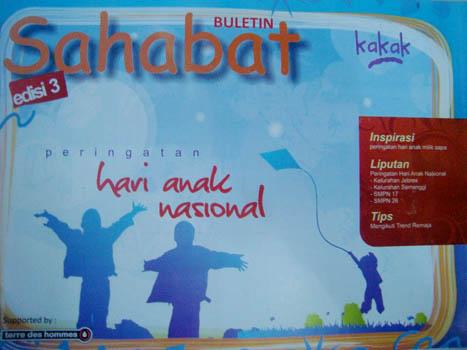 Buletin Sahabat Edisi#3 - Peringatan Hari Anak Nasional